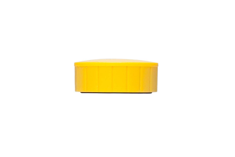 Magnet MAULsolid Ø 38 mm, 2,5 kg Haftkraft, 10 St./Ktn., gelb