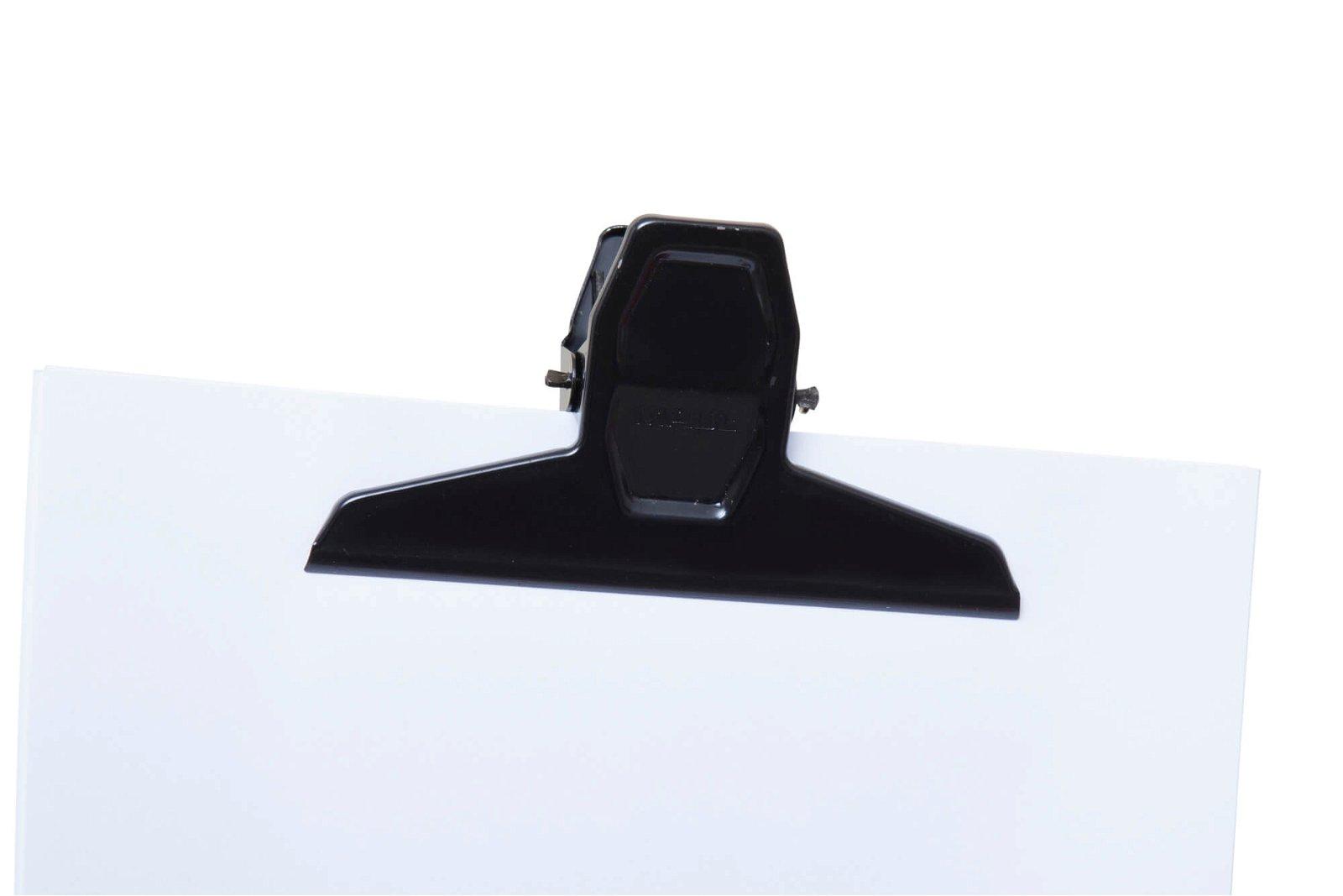 Brief-Klemmer MAULpro, Breite 125 mm, 2 St./Btl., schwarz