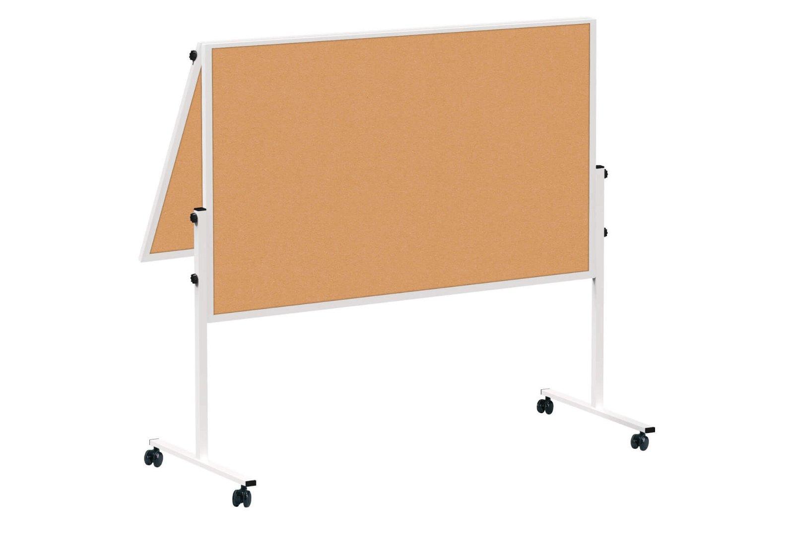 Moderationstafel MAULsolid klappb. Kork, 150x120 cm, grau