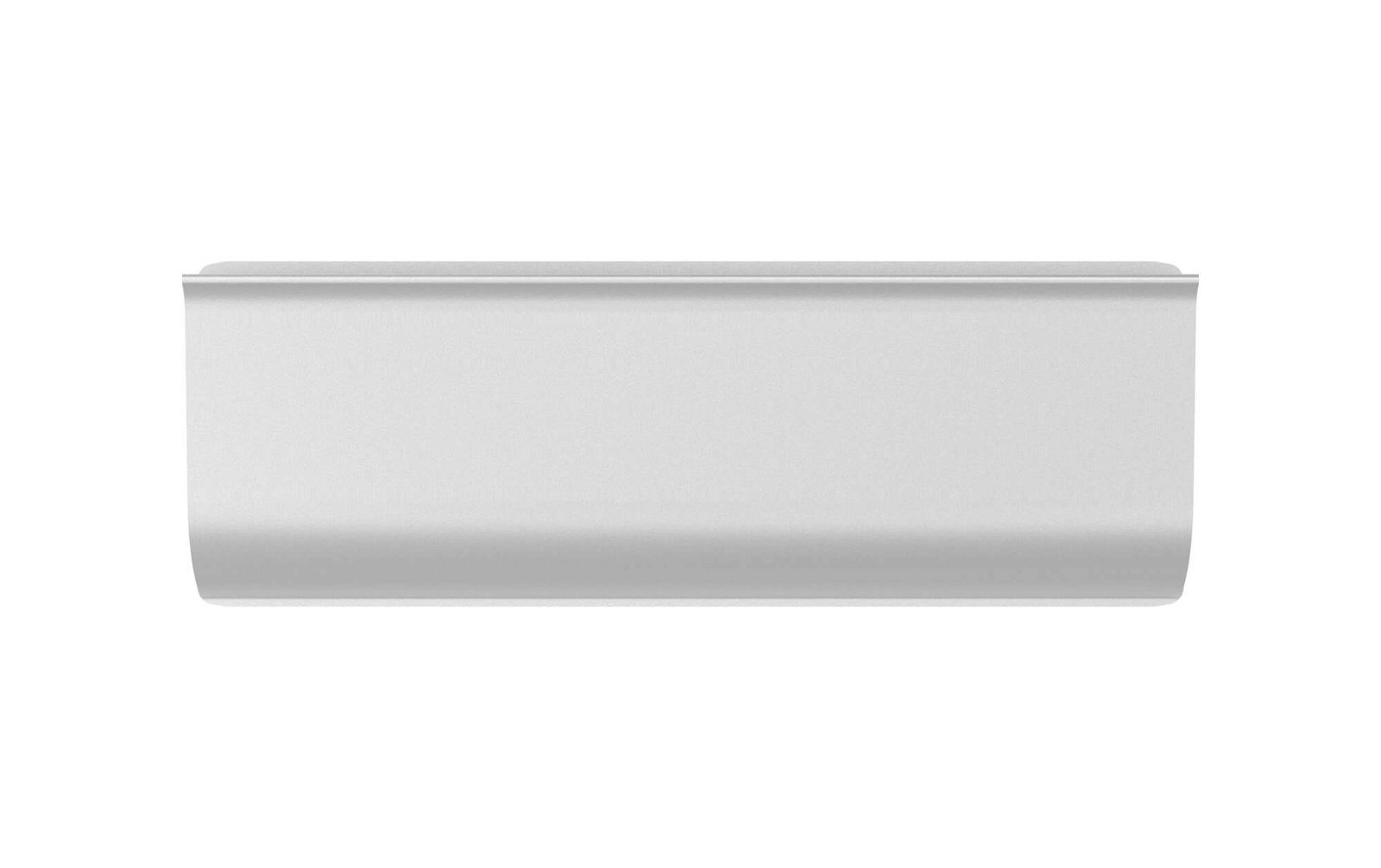 Klemmleiste Aluminium, Länge 11,3 cm, aluminium