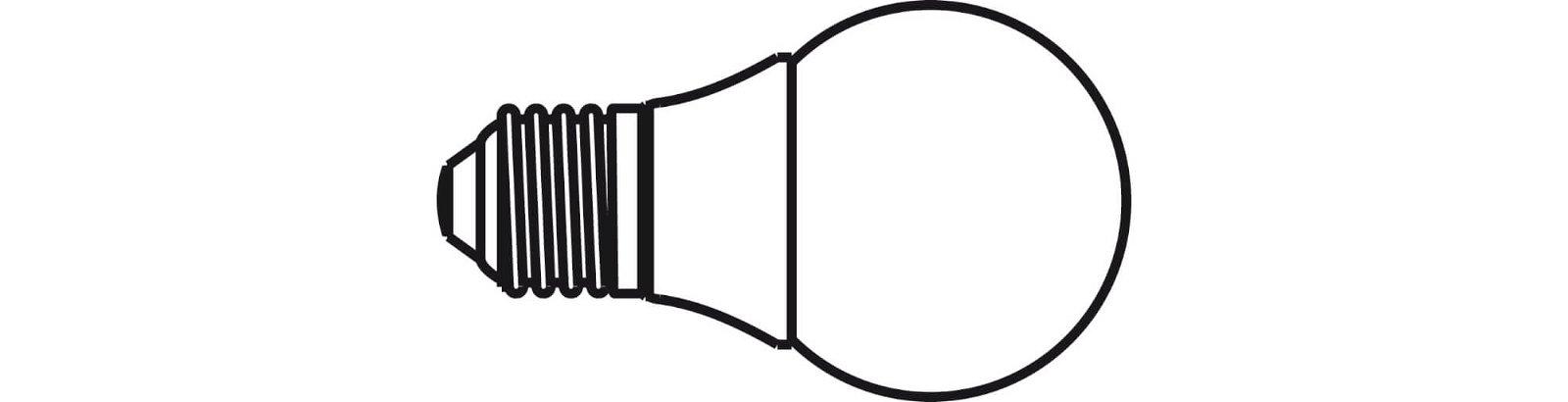 Energiespar-Leuchtmittel, Sockel E27, 2700 K, glasklar