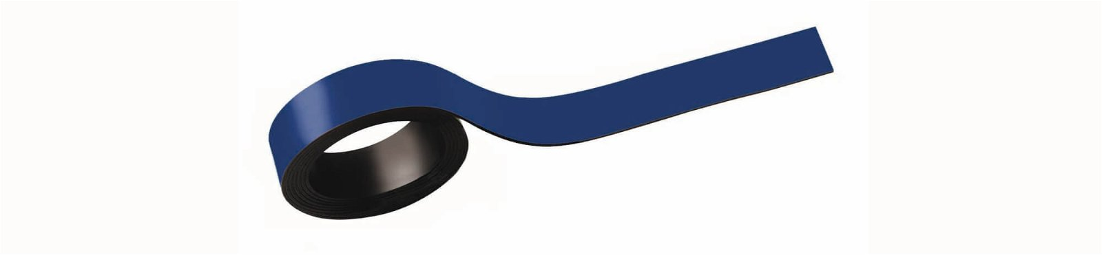 Magnetstreifen, 1,5x100 cm, 2 St./Set, blau