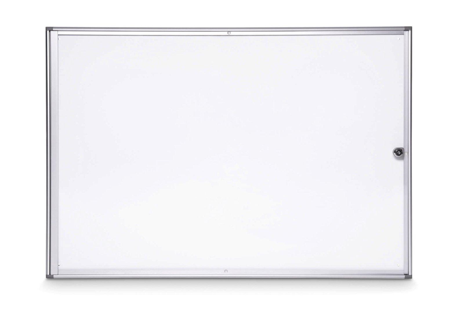 Schaukasten MAULextraslim, 8 x A4, aluminium