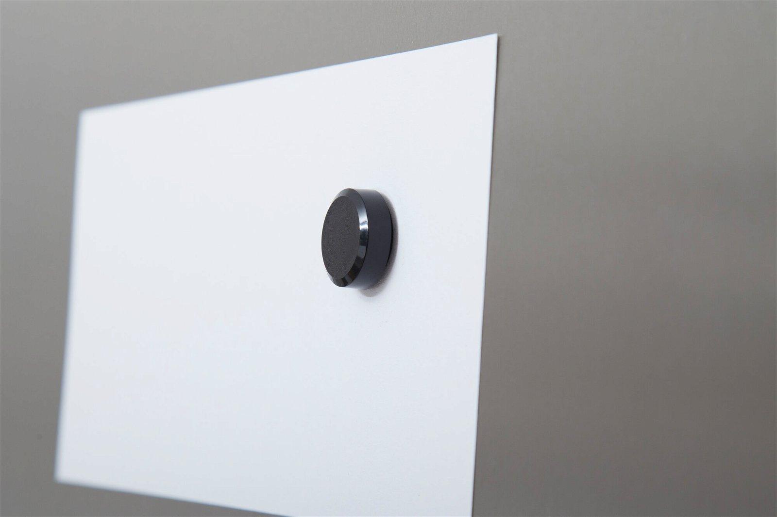 Facetterand-Magnet MAULpro Ø 20 mm, 0,3 kg, 20 St./Set, schwarz