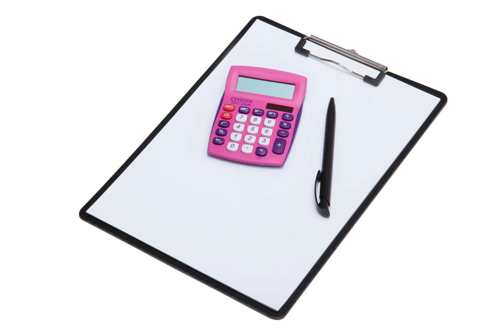 Tischrechner SDC 450NPKCFS semi, rosa