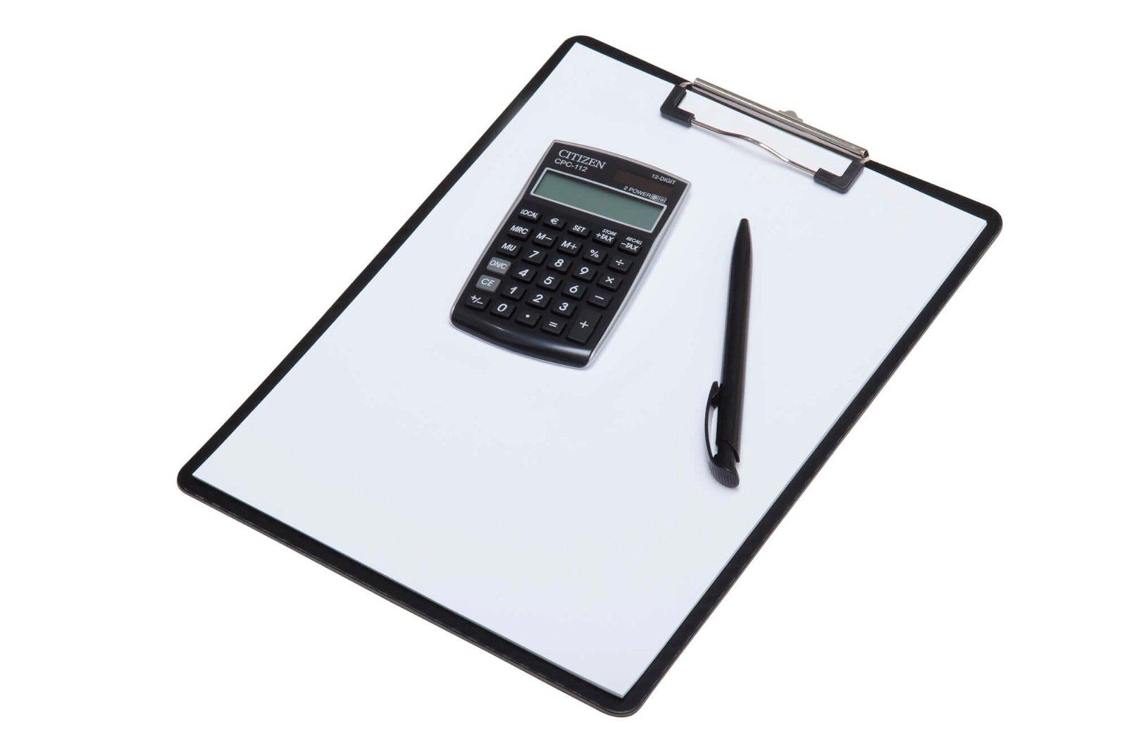 Taschenrechner CPC 112BKWB, schwarz