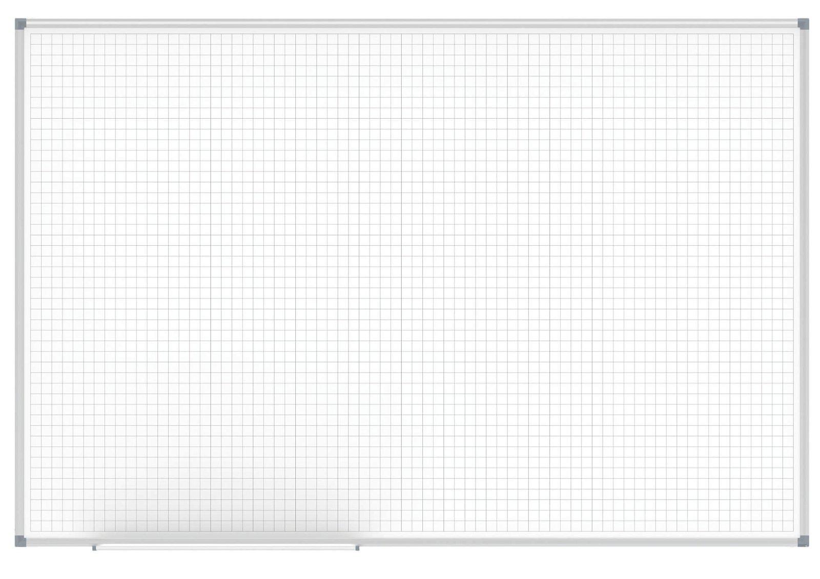 Whiteboard MAULstandard, Raster 20 x 20 mm