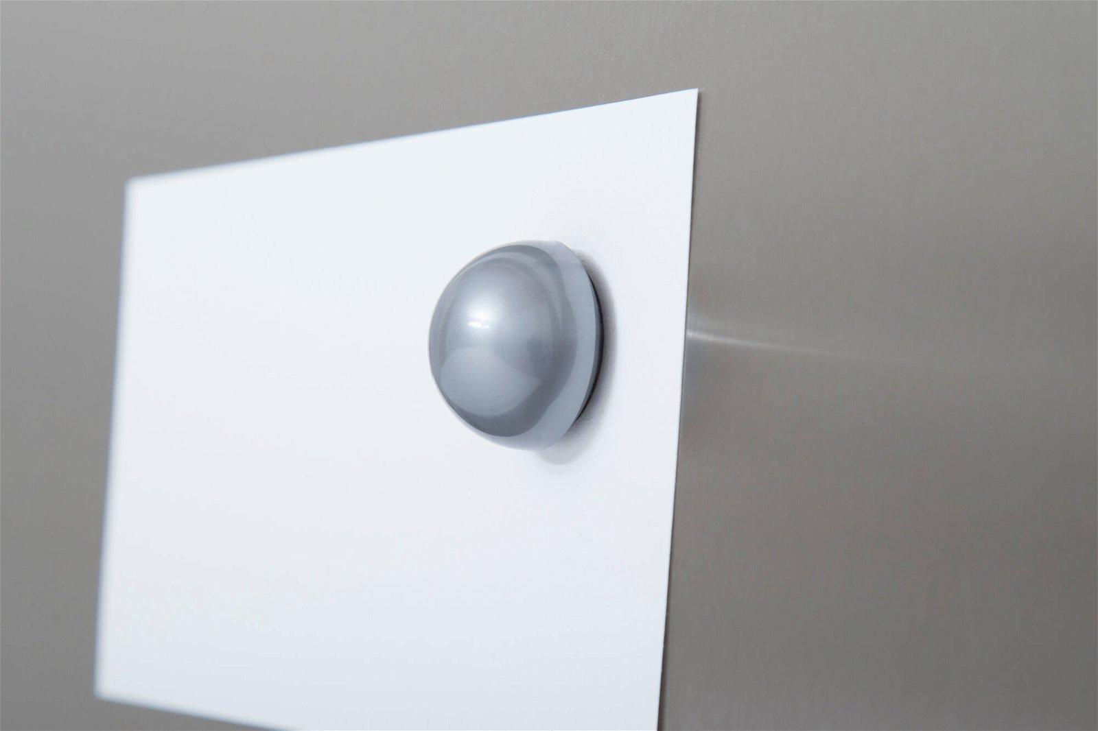 Kugel-Magnet Ø 30 mm, 0,6 kg Haftkraft, 10 St./Set, silber