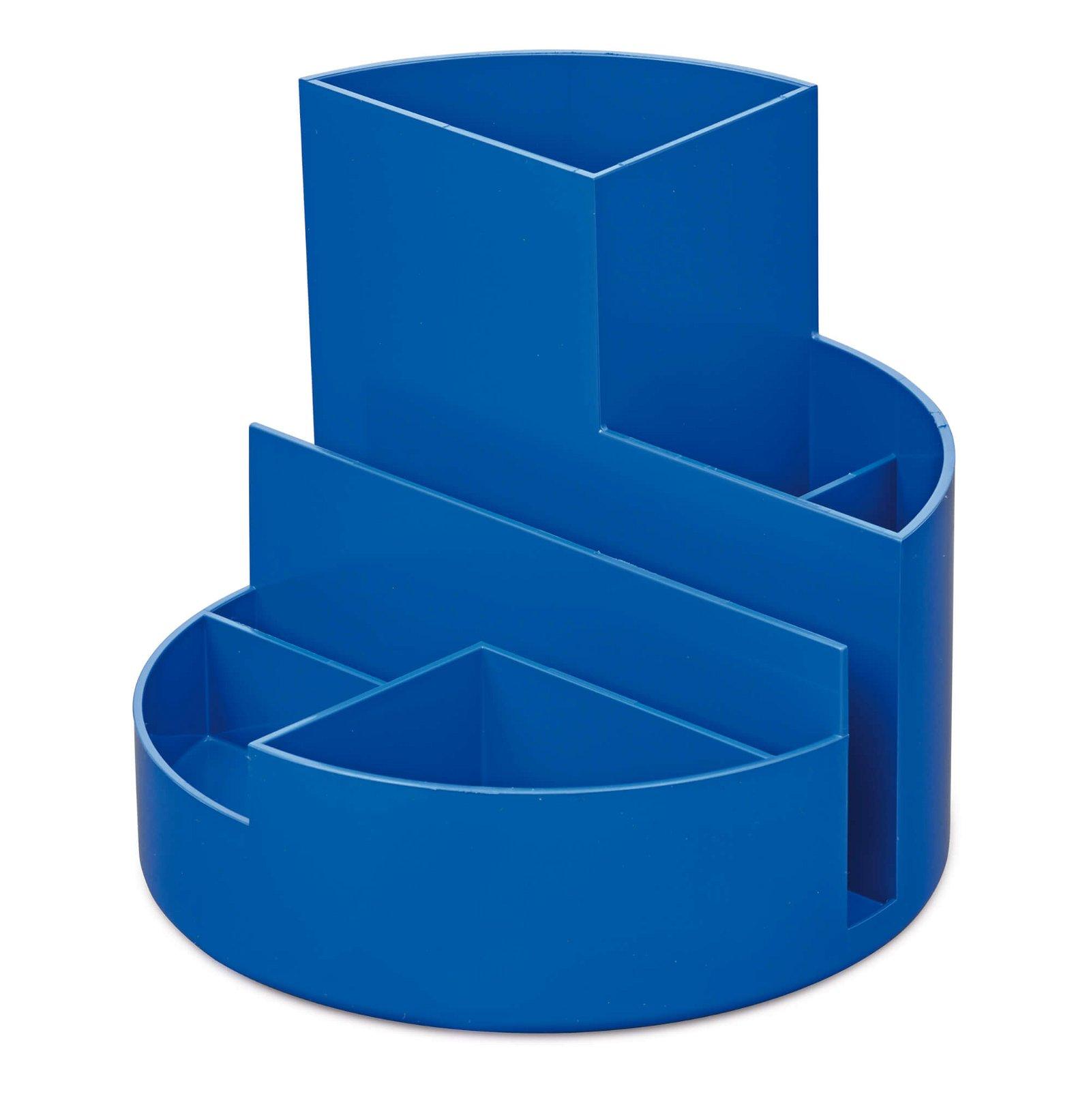 Schreibtischorganizer MAULrundbox Eco, blau