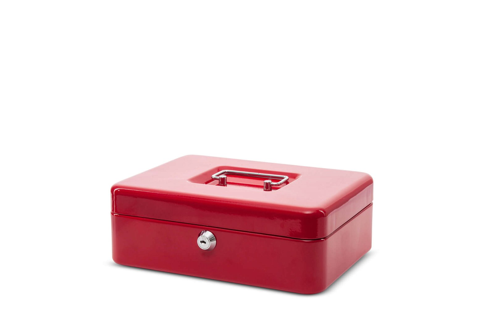 Geldkassette 3, 25 x 19,1 x 9 cm, rot