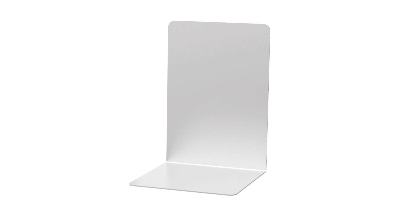 Buchstützen aus Aluminium, 16 x 15 x 21 cm, aluminium