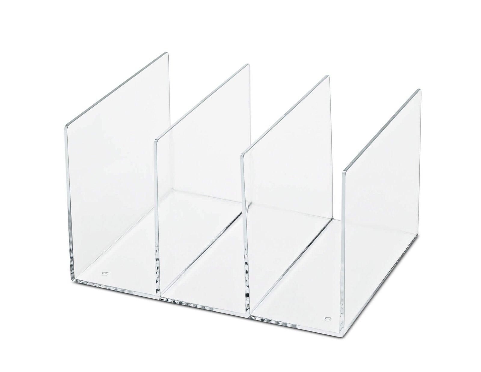 Acryl-Katalogsammler, glasklar
