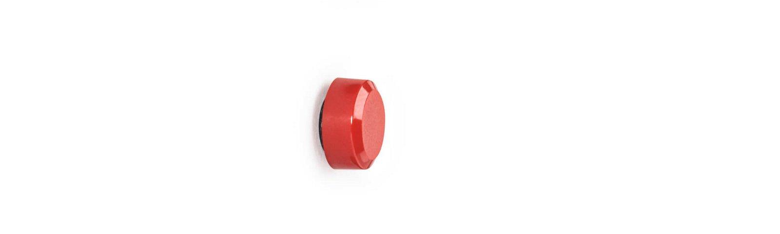 Facetterand-Magnet MAULpro SB Ø 15 mm, 0,17 kg, 8 St./Set, rot