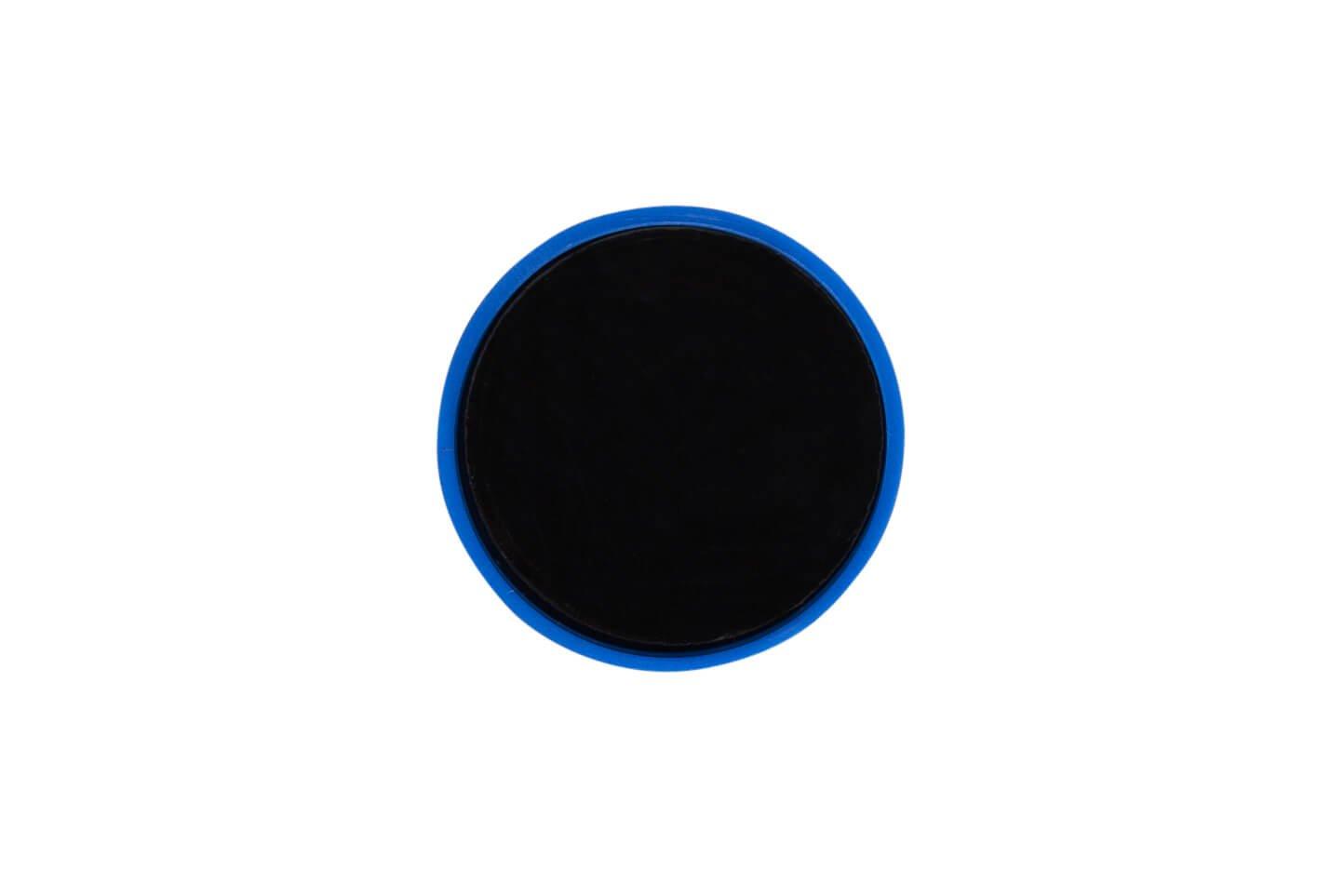 Rund-Magnet, PE Ø 30 mm, 0,6 kg Haftkraft, 10 St./Set, blau