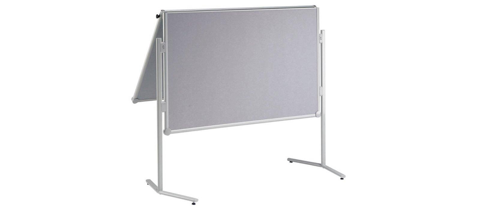 Moderationstafel MAULpro klappb. Papier, 150x120 cm, grau