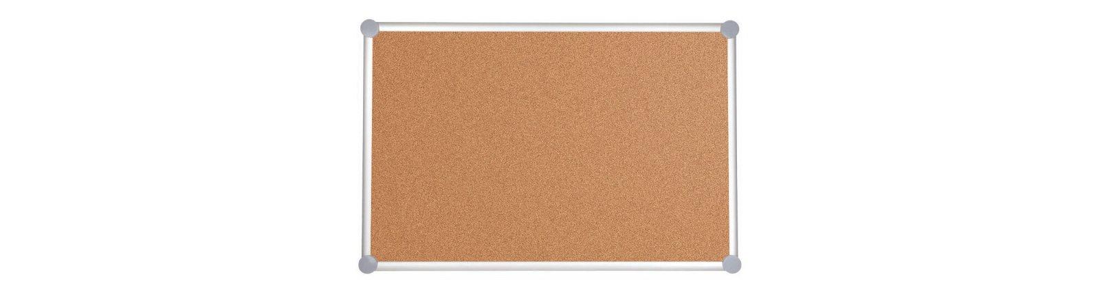 Pinnboard 2000 MAULpro, Kork, 90x120 cm, grau