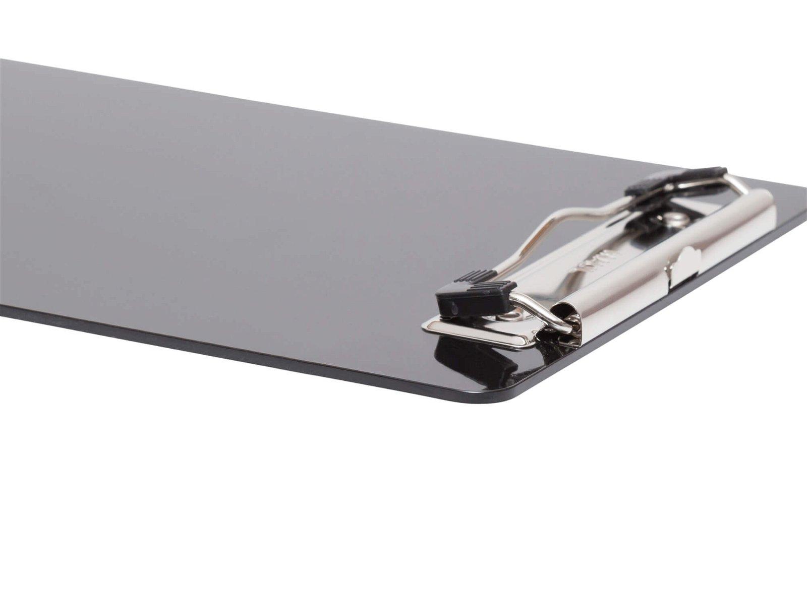 Schreibplatte, Kunststoff mit Bügelklemme