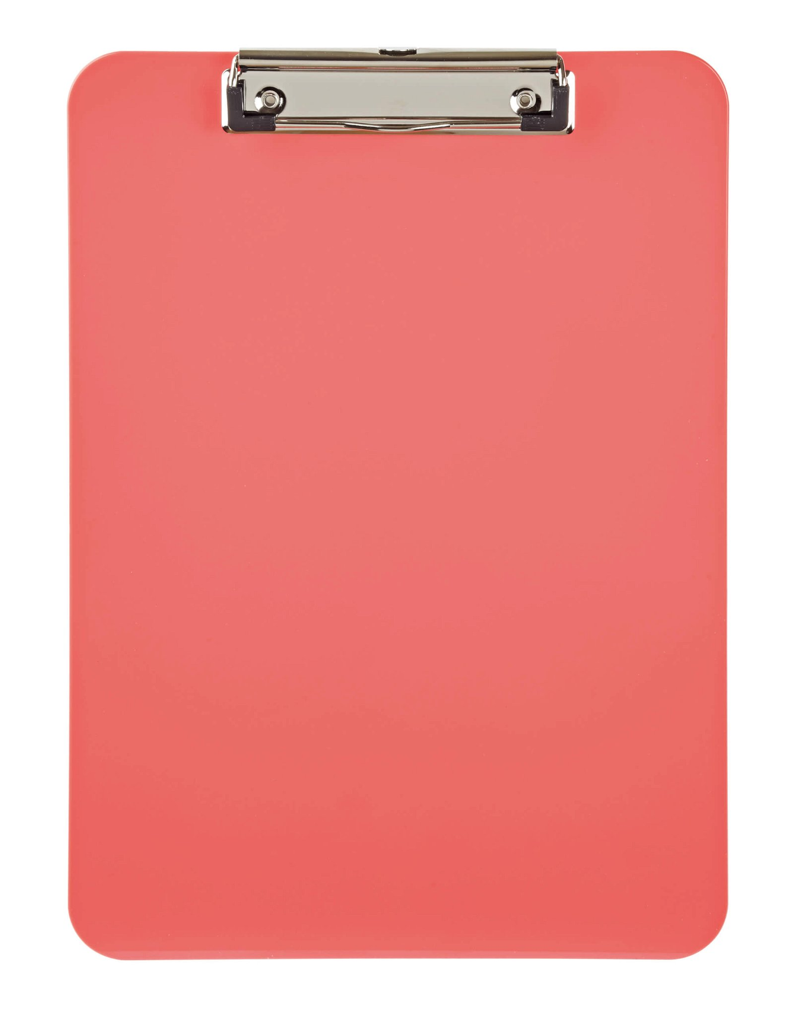 Schreibplatte, Kunststoff mit Bügelklemme - touch of rose