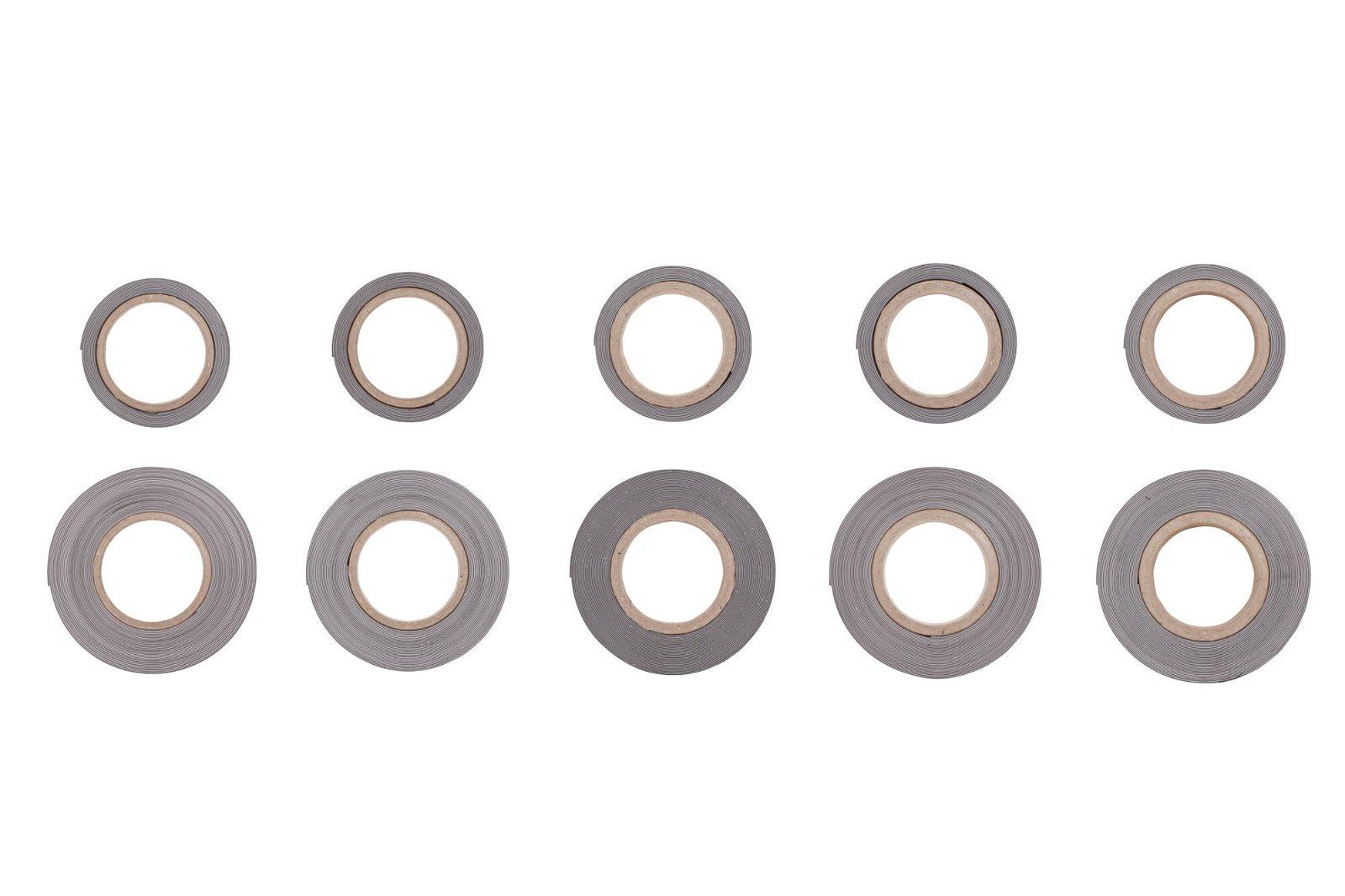 Kennzeichnungsband magnet- haftend, 3 m x 40 mm x 1 mm, weiß