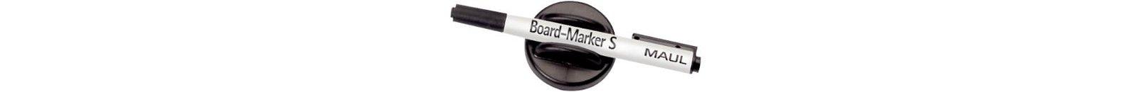 Tafelwischer mit Marker S, schwarz
