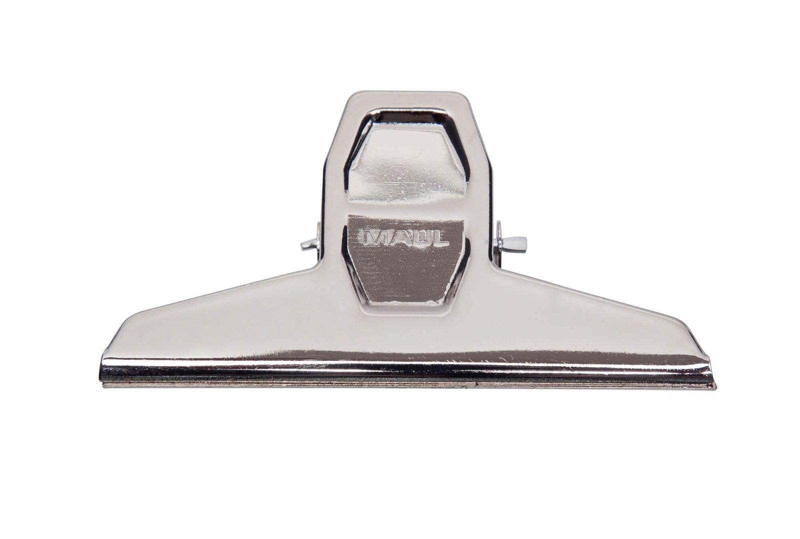 Brief-Klemmer MAULpro, Breite 125 mm, hellsilber
