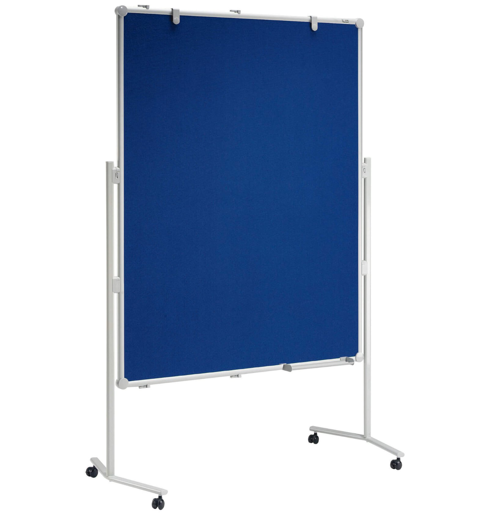 Moderationstafel MAULpro Textil blau, 150x120 cm, grau