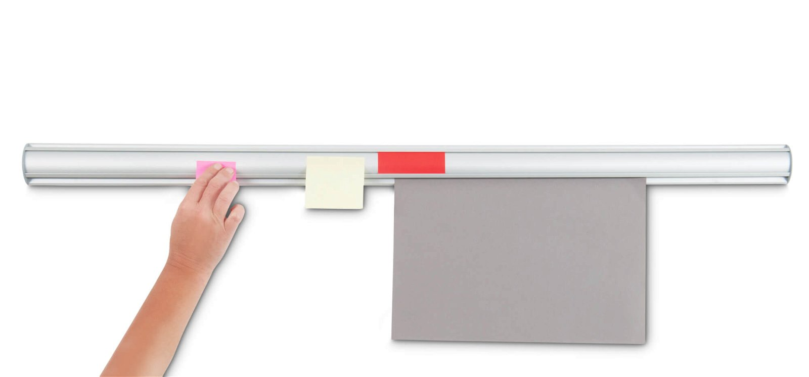 Ballfix-Leiste Aluminium, Länge 100 cm, aluminium