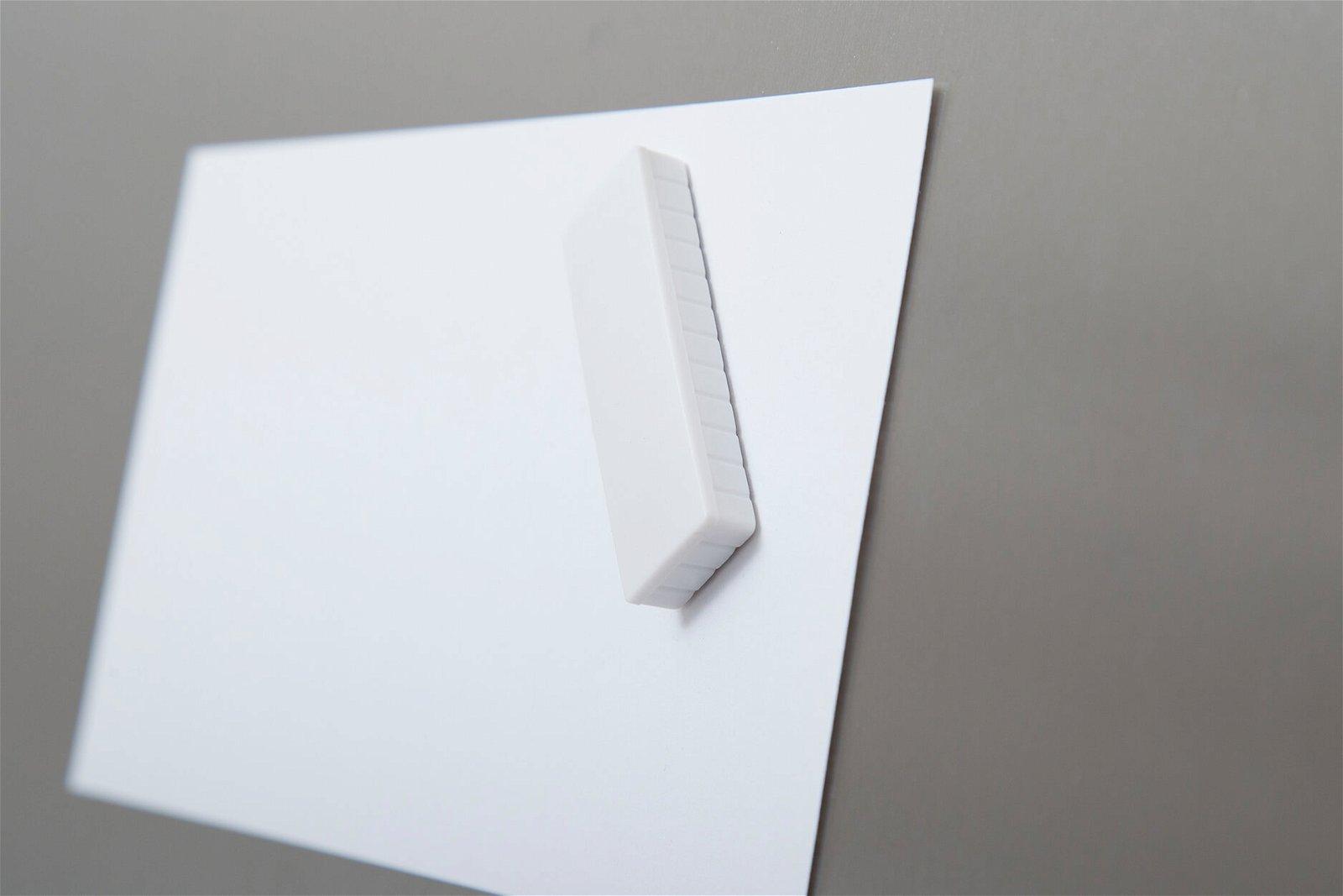 Magnet MAULsolid 54 x 19 mm, 1 kg Haftkraft, 10 St./Ktn., weiß