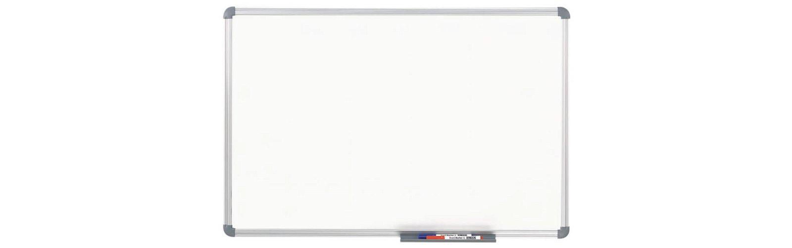 Whiteboard MAULoffice, Emaille, 100x150 cm, grau