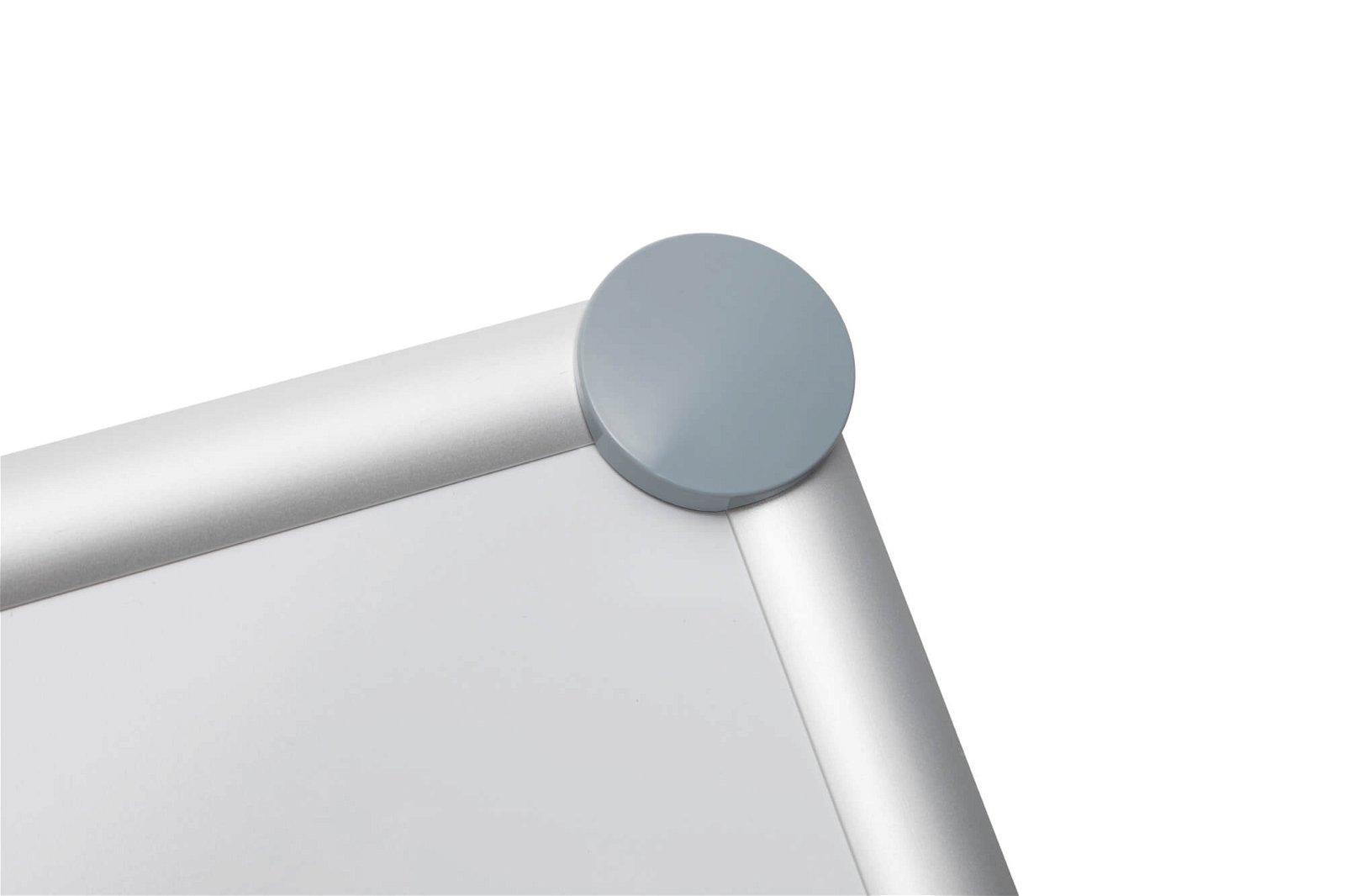 Whiteboard 2000 MAULpro, 100x150 cm, grau