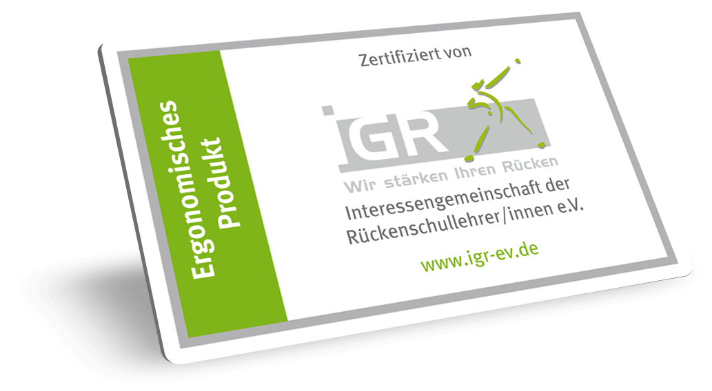 GEOtec Orgadesk IGR Zertifikat