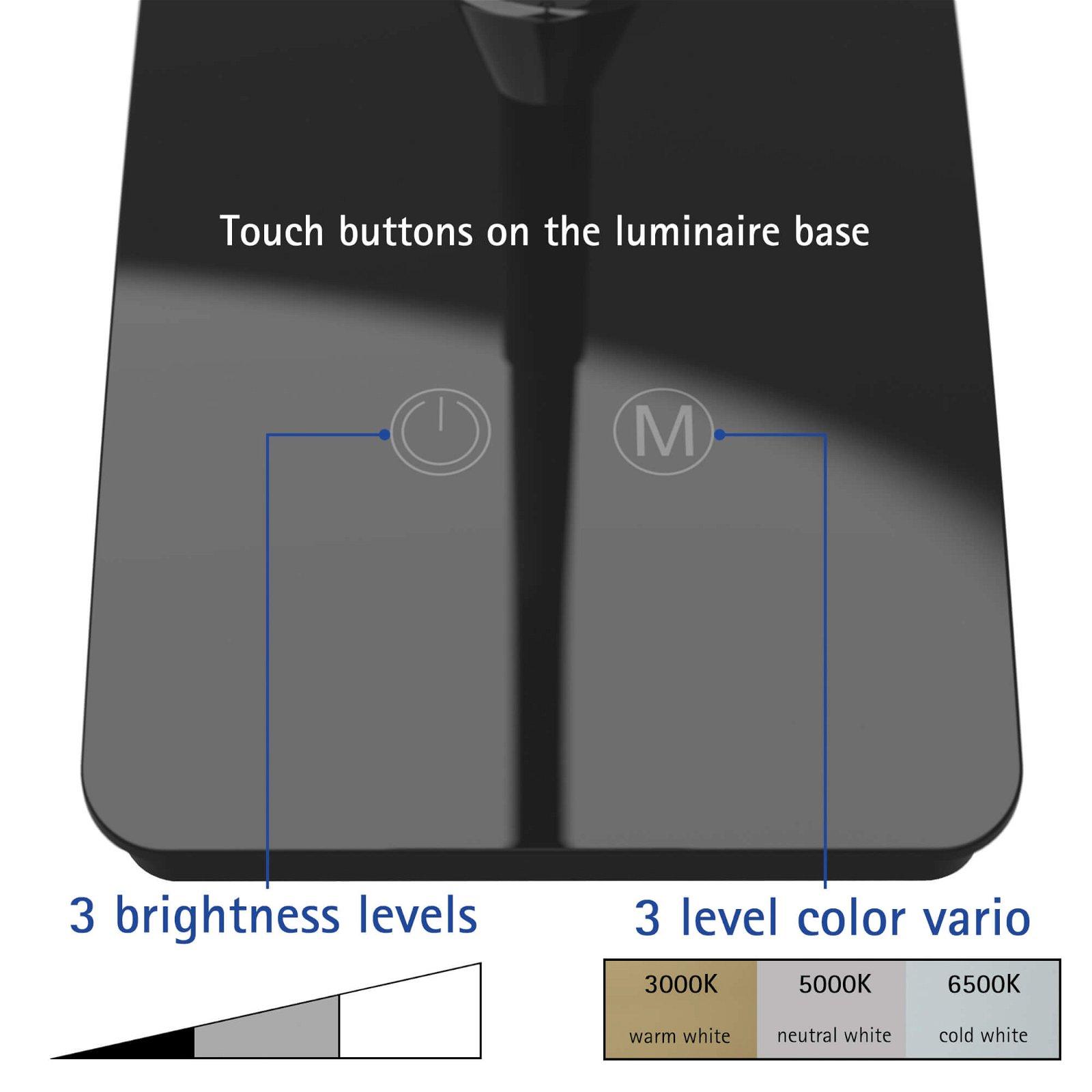 LED-Tischleuchte MAULpearly colour vario