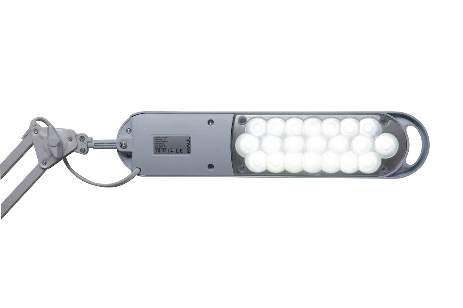 LED-Tischleuchte MAULatlantic, mit Standfuss, weiß