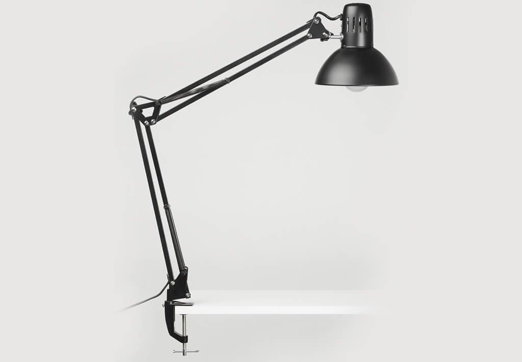 LED-Tischleuchte MAULstudy, schwarz