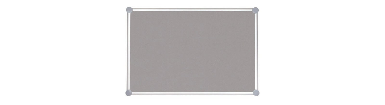 Pinnboard 2000 MAULpro, Textil, 100x150 cm, grau