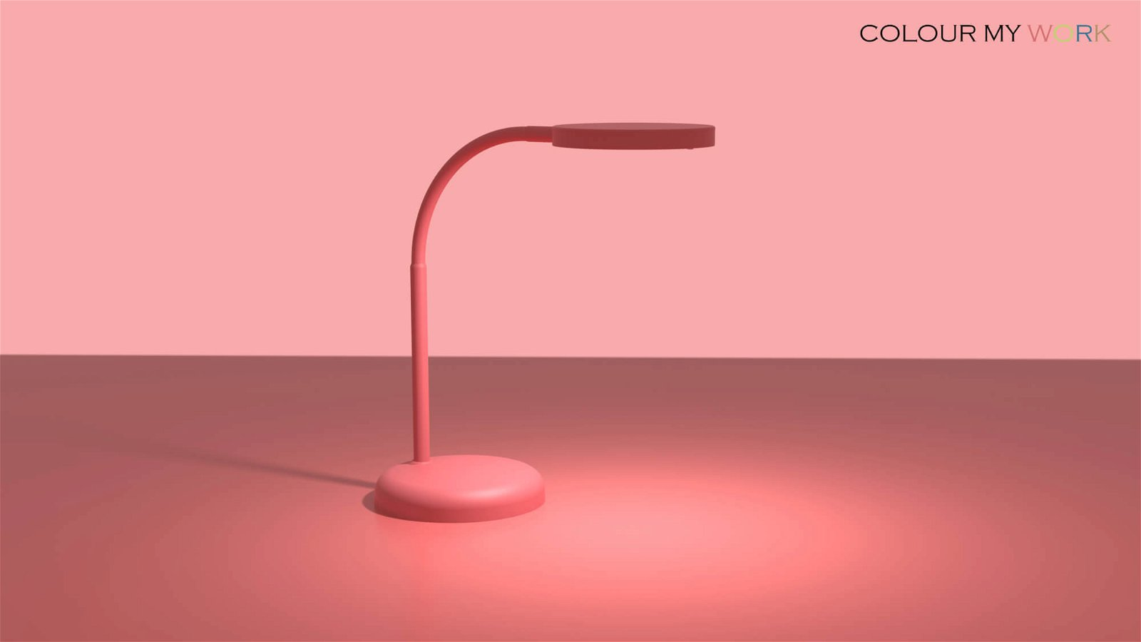 LED-Tischleuchte MAULjoy - touch of rose