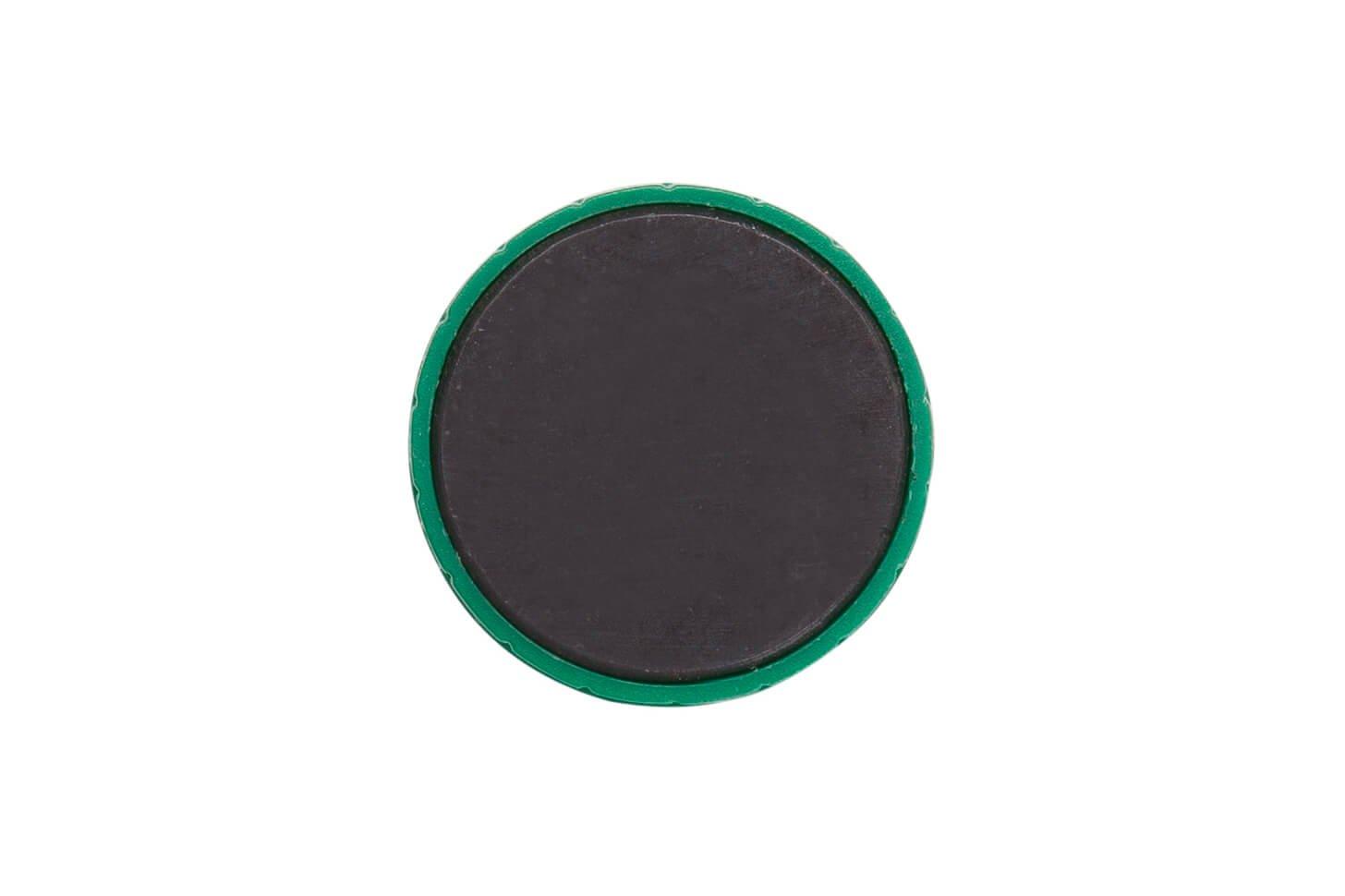 Magnet MAULsolid Ø 38 mm, 2,5 kg Haftkraft, 10 St./Ktn., grün