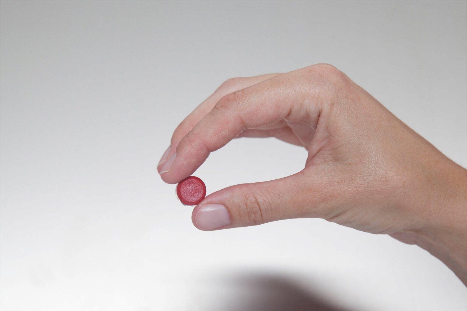 Facetterand-Magnet MAULpro Ø 15 mm, 0,17 kg, 20 St./Set, rot