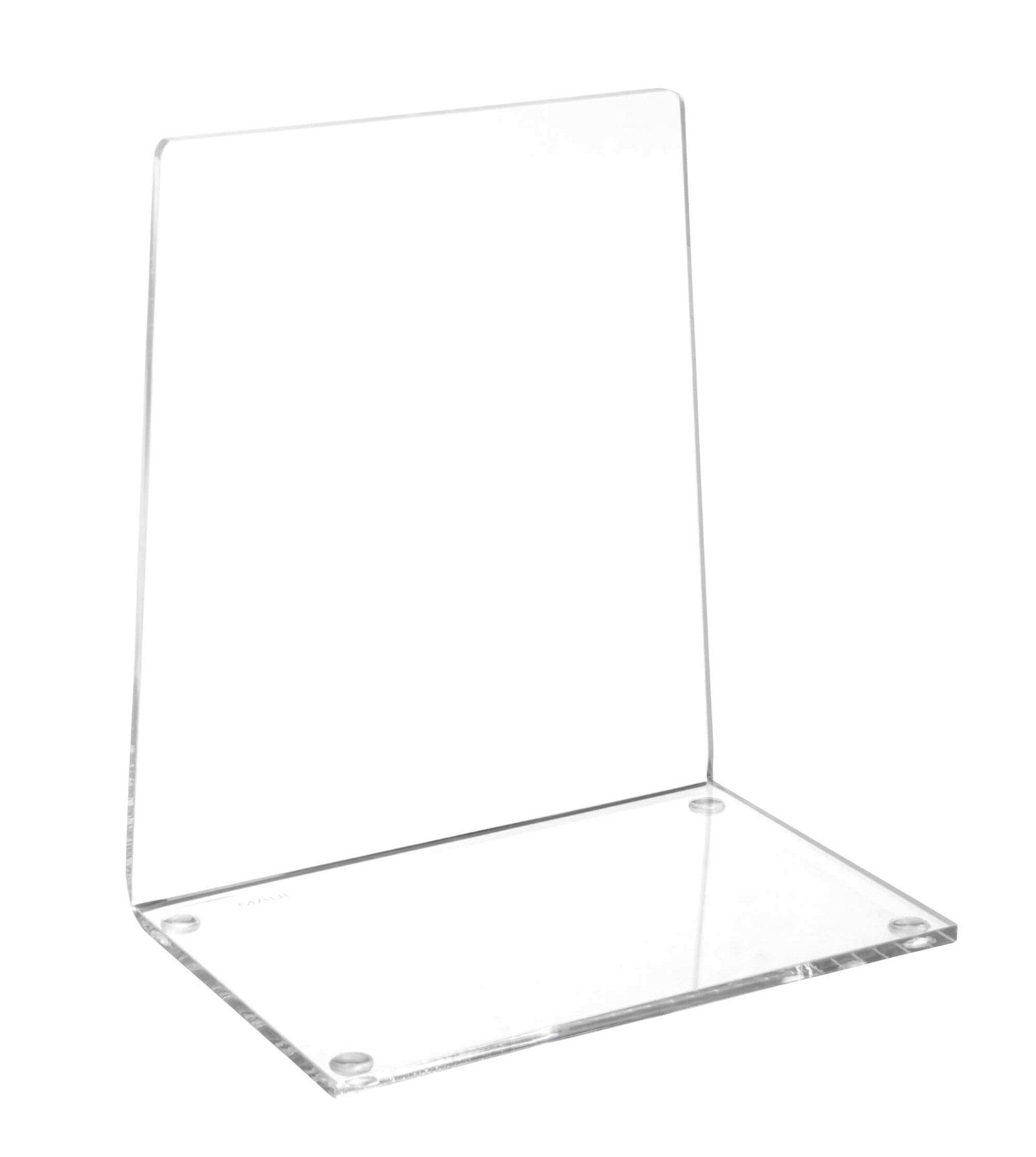 Acryl-Buchstütze, glasklar