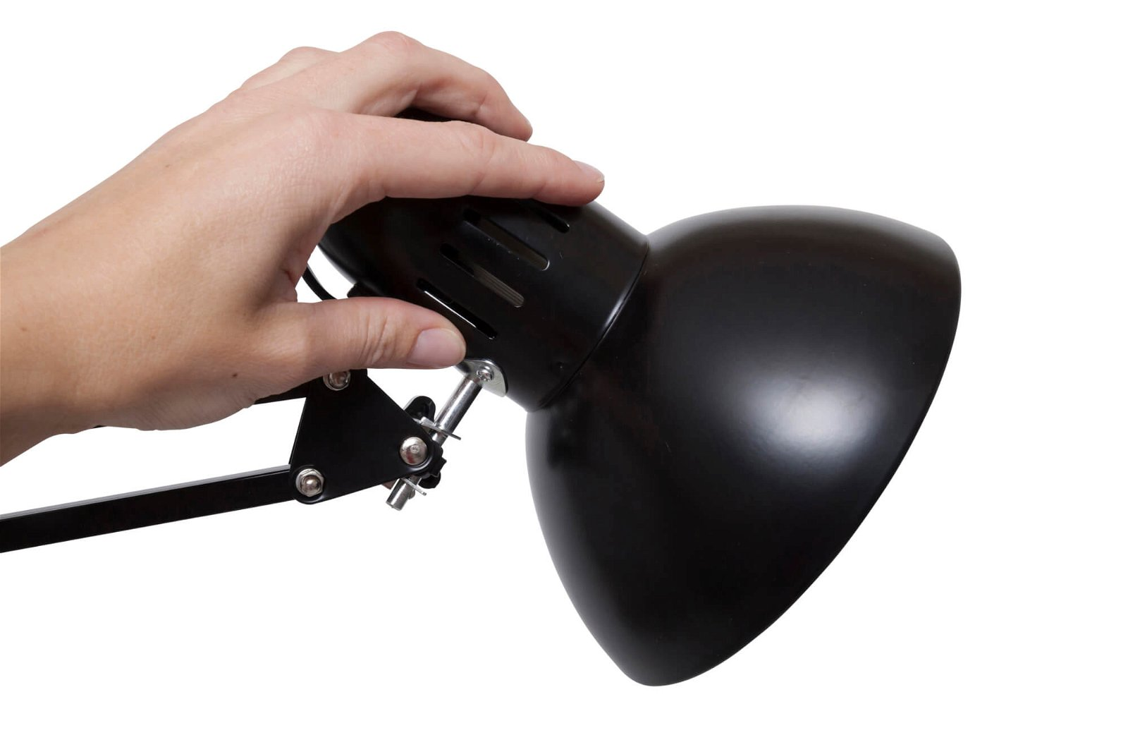 Energie-Sparleuchte MAULstudy, exkl. Leuchtmittel, schwarz