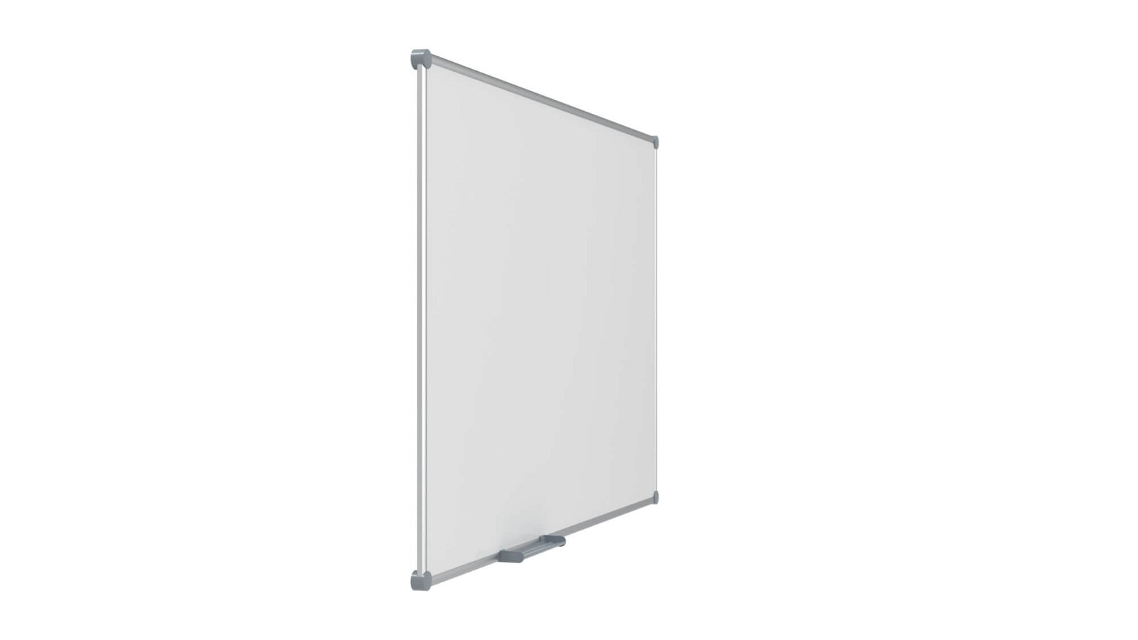 Whiteboard 2000 MAULpro, Emaille, 120x180 cm, grau