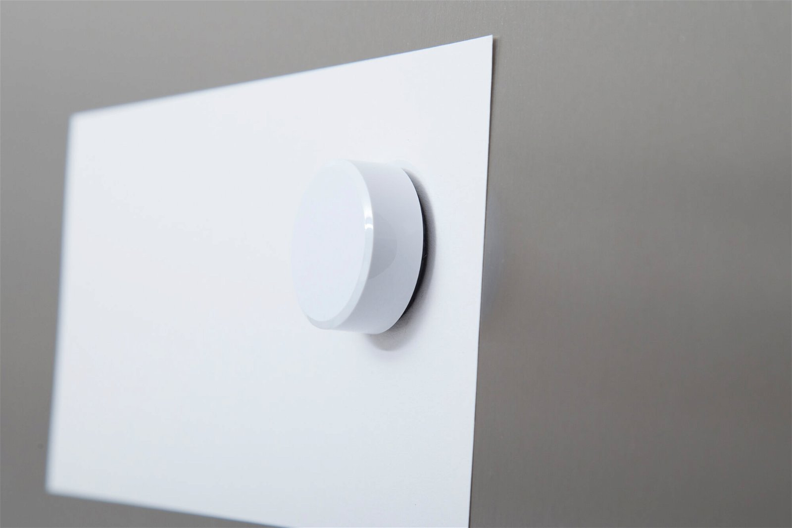 Facetterand-Magnet MAULpro Ø 34 mm, 2 kg, 20 St./Set, weiß