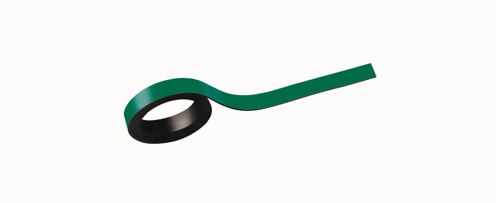 Magnetstreifen, 1x100 cm, 2 St./Set, grün