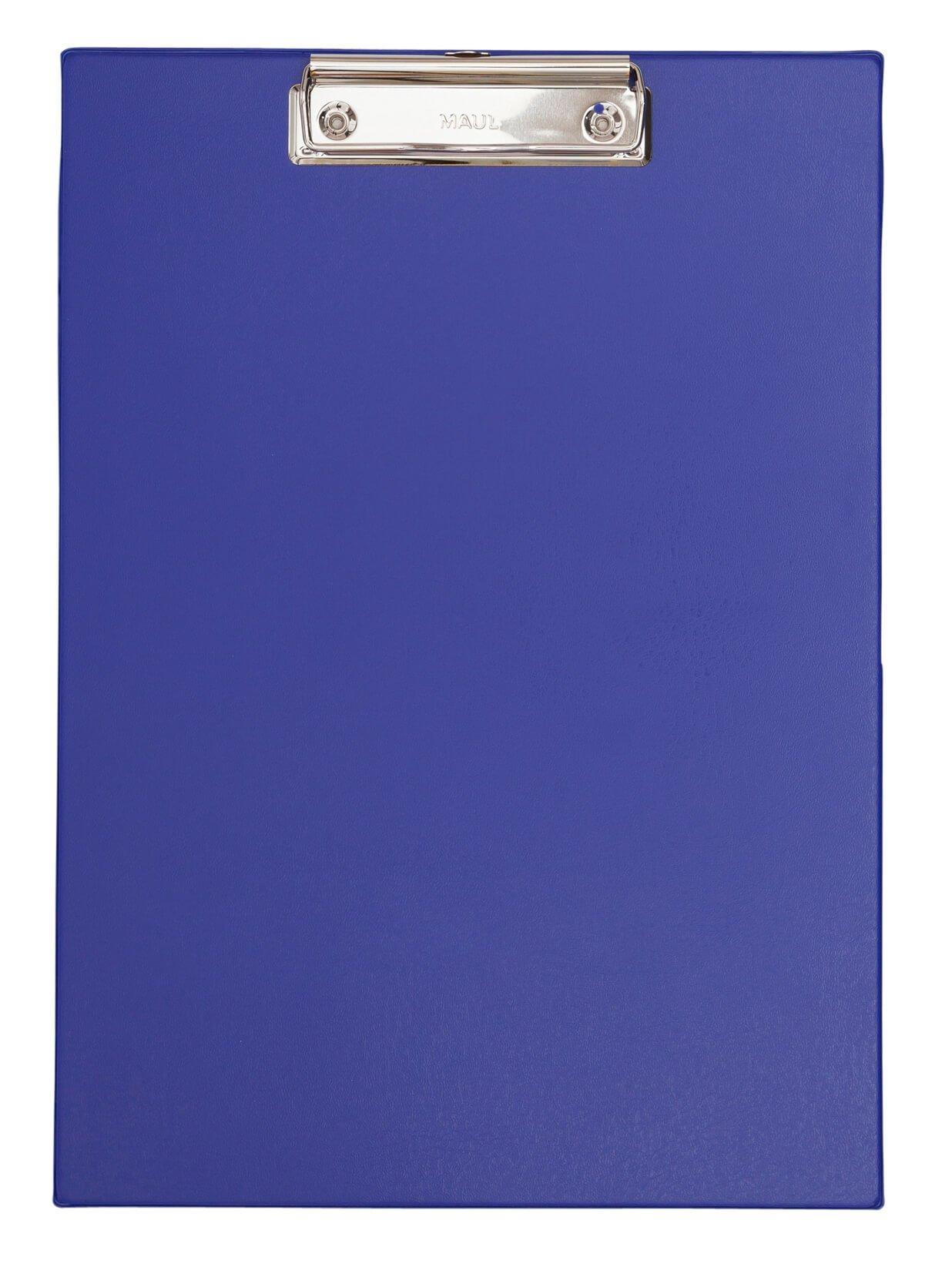 A4 Schreibplatte mit Folien- überzug, blau