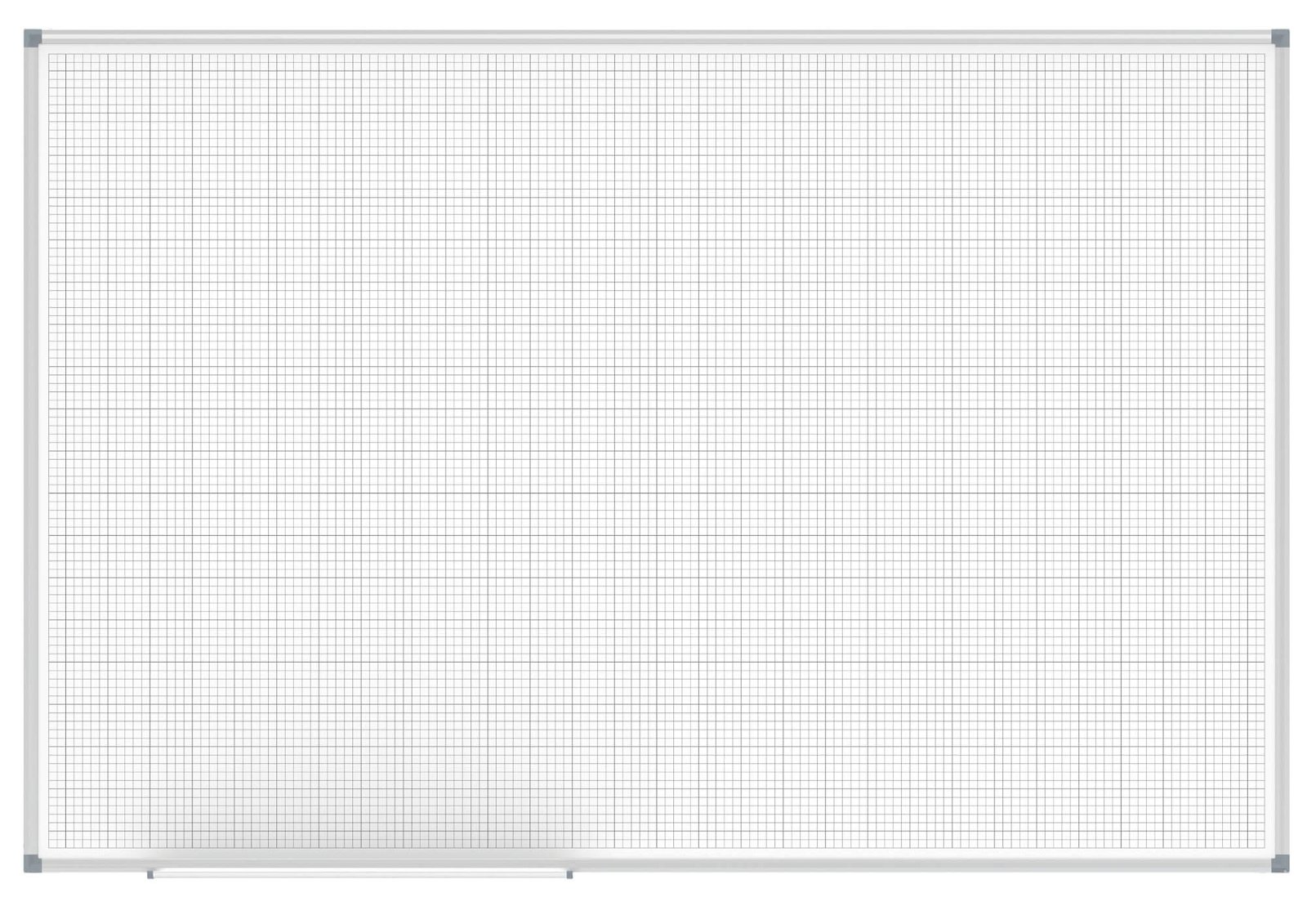 Whiteboard MAULstandard, Raster 10 x 10 mm
