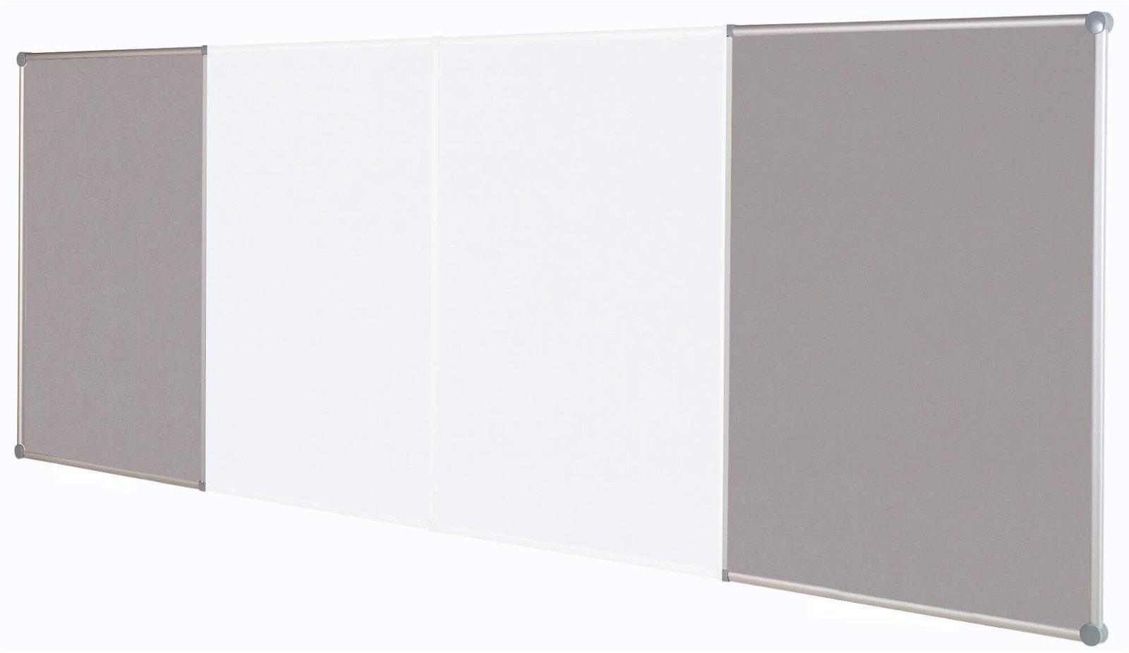 Endlos-Pinnboards, Textil