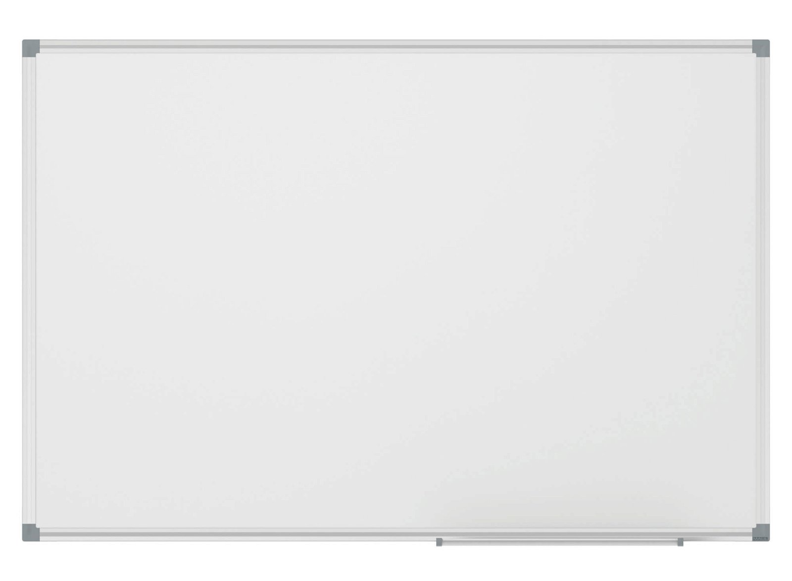 Whiteboard MAULstandard, Emaille, 120x240 cm, grau