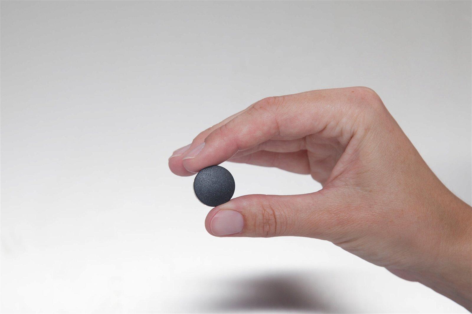 Magnet MAULsolid Ø 20 mm, 0,3 kg Haftkraft, 10 St./Ktn., schwarz