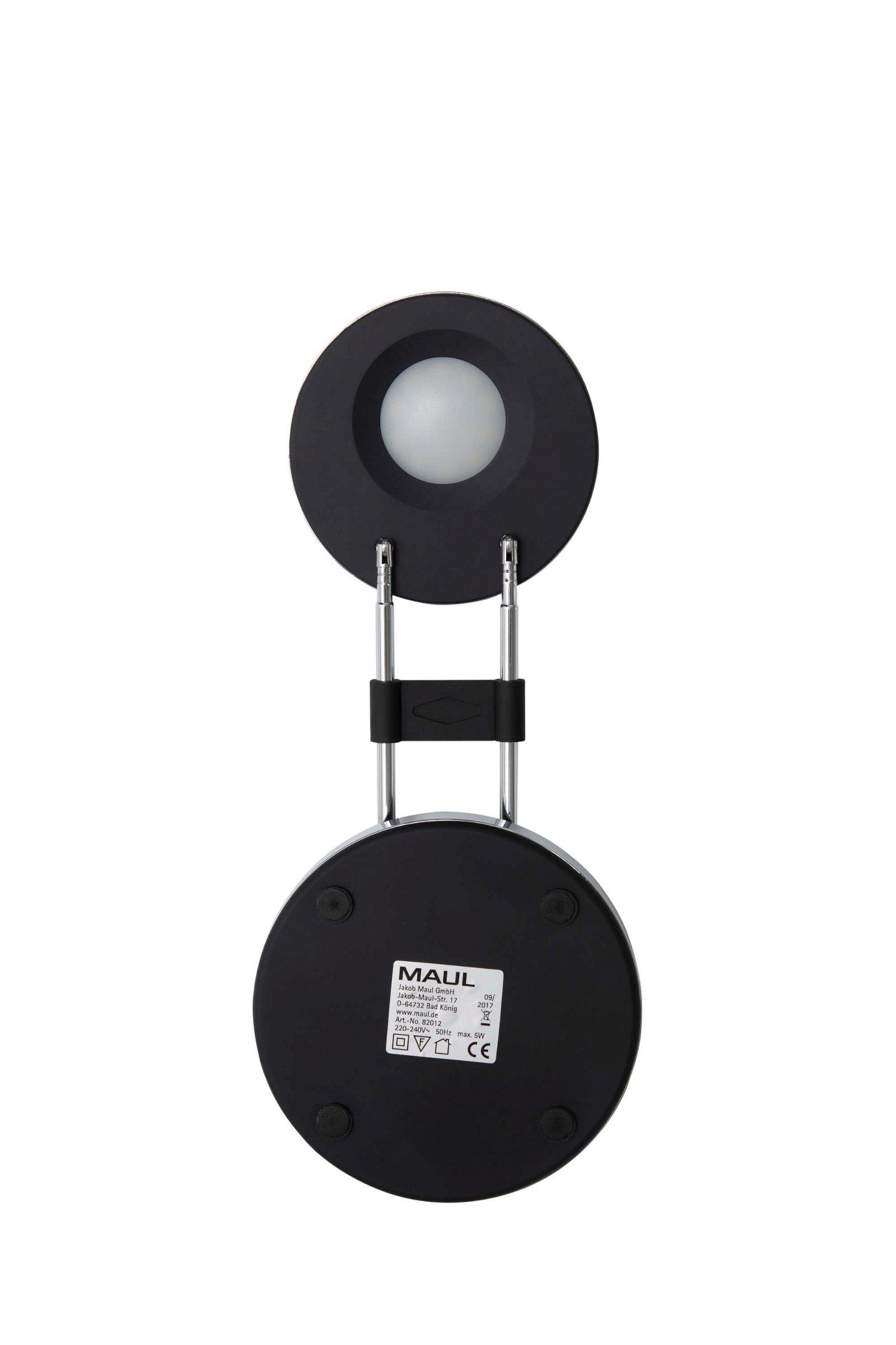 LED-Tischleuchte MAULpuck, schwarz