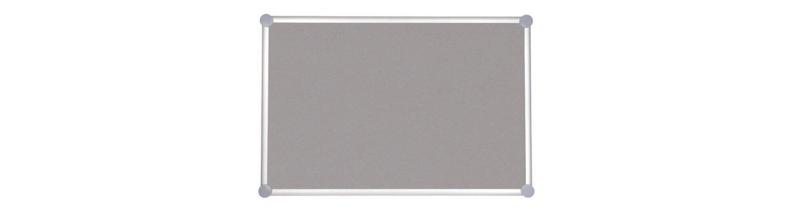Pinnboard 2000 MAULpro, Textil, 90x180 cm, grau